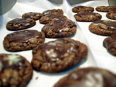 chocolate mint cookies!