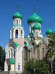 Green Domes (Karin & Rene) Tags: green church groen onions domes kerk lithuania vilnius baltics romanov litouwen koepels baltischestaten karinenrene2004
