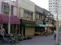 平井駅前商店街、昔の町並み