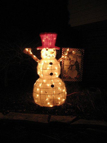 Front Yard Snowman