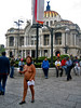 Naked Protest (Alexander H.M. Cascone) Tags: city people woman naked nude mexico mexicocity df bellasartes protest nudity exposed pamphlet disrobed palaciodelasbellasartes