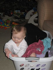 H Helping with Laundry