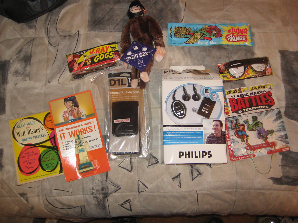 My random crap from woot.com xmas 2007