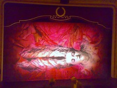 The Sleeping Beauty ballet curtain at Edinburgh's Festival theatre