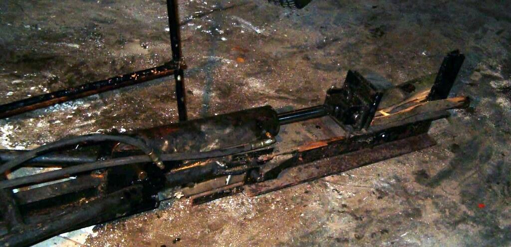 Homemade Skid Steer Log Splitter Attachment