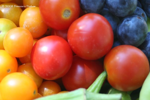 Tomatoes and Blueberries Oh My!