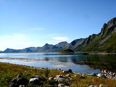 Lofoten scape (little_frank) Tags: road travel light wild