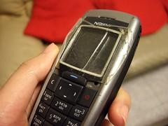 一個電信業員工的手機