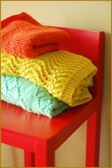 pile o' knits