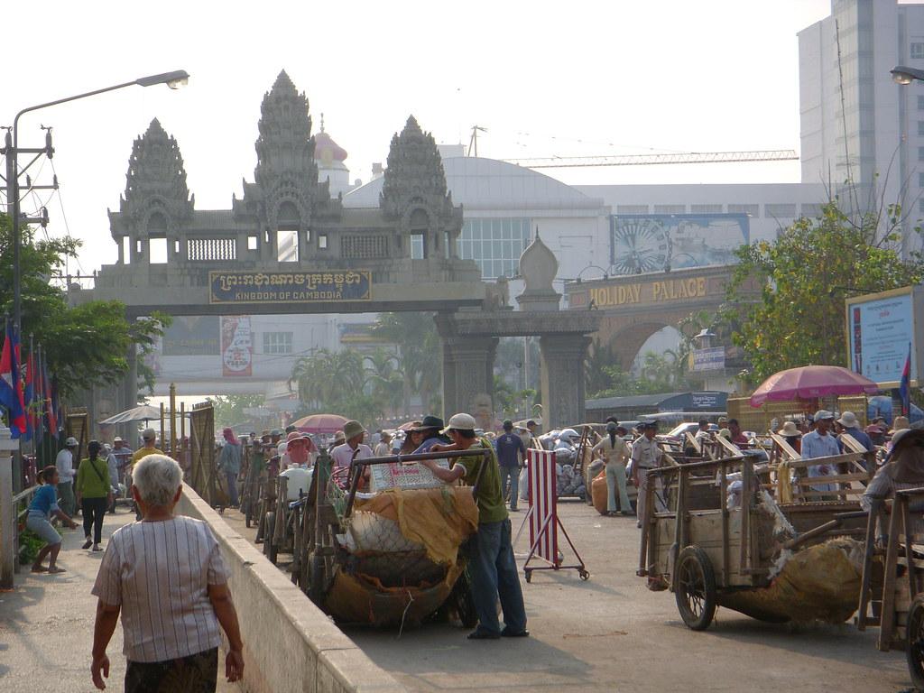 paso fronterizo camboya-tailandia