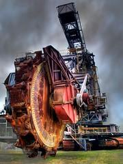 Bigger Digger (Batram) Tags: monster giant mine coal hdr digger ferropolis bagger batram schaufelradbagger bucketwheelexcavator surfacemining