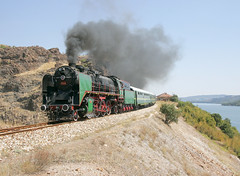 Bulgaria State Railways 2-8-2 steam locomotive 23 01, built in Switzerland in 1935 by Winterthur, near Kardzhali, Bulgaria, August 25, 2006 (Ivan S. Abrams) Tags: arizona canon20d ivan eisenbahn trains bulgaria getty abrams railways rai trainspotting gettyimages railroads trens dampflok steamtrains smrgsbord tucsonarizona steampowered ferrovie chemindefer steampower steamlocomotives oldtrains railfans 12608 bdz railwayenthusiasts europeanrailways movingtrains onlythebestare internationalrailways bulgariastaterailways ivansabrams trainplanepro kostadinmihailov assenstoyanov pimacountyarizona safyan arizonabar preservedlocomotives arizonaphotographers railwayexcursions ivanabrams specialtrains cochisecountyarizona railroadexcursions railwaytouringcompany balkantrains balkanrailways locomotivesavapeur locomotivesavapore ferriovia restoredlocomotives trainsaroundtheworld tucson3985 gettyimagesandtheflickrcollection copyrightivansabramsallrightsreservedunauthorizeduseofthisimageisprohibited tucson3985gmailcom ivansafyanabrams arizonalawyers statebarofarizona californialawyers copyrightivansafyanabrams2009allrightsreservedunauthorizeduseprohibitedbylawpropertyofivansafyanabrams unauthorizeduseconstitutestheft thisphotographwasmadebyivansafyanabramswhoretainsallrightstheretoc2009ivansafyanabrams abramsandmcdanielinternationallawandeconomicdiplomacy ivansabramsarizonaattorney ivansabramsbauniversityofpittsburghjduniversityofpittsburghllmuniversityofarizonainternationallawyer