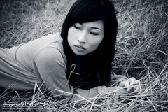 Eve (AehoHikaruki) Tags: portrait people blackandwhite bw girl beautiful face asian nice interesting asia evelyn photos sweet album great chinese taiwan taipei lovely      aehohikaruki photofaceoffwinner platinumheartaward