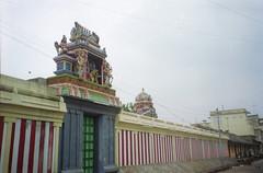 Ganesh temple (Jennifer Kumar) Tags: ganesh negativescan tamilnadu pondicherry india1998 puducherry ganeshtemple