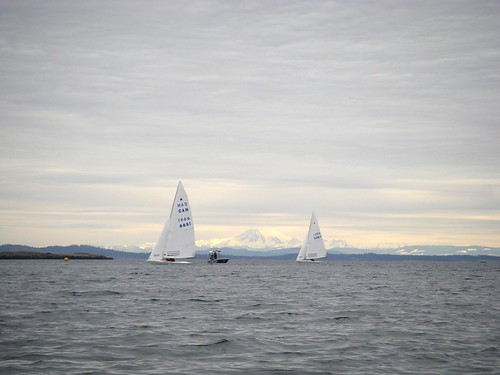 Sailboats and Mount Baker