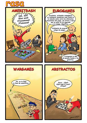 RASA  07 - tipos de jugadores