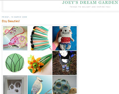 Joey's Dream Garden blog reference