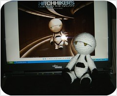 Marvin - The Hitchhikers Guide to the Galaxy I (Froschprinzessin) Tags: galaxy guide amigurumi marvin the hitchikers