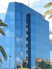 Nizza  building (Gr75) Tags: city france building glass canon nice cotedazur build lungomare francia nizza citta urbane vetro palazzi edifici riflessione reflession