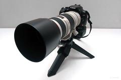 My own Sentry Cam! (LRFarias) Tags: camera canon still flash strobist rebelxti ef14x ef70200f4lis