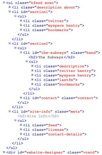 Goo Music - Semantic HTML