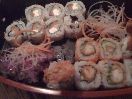 Sushi at Bangkok 9