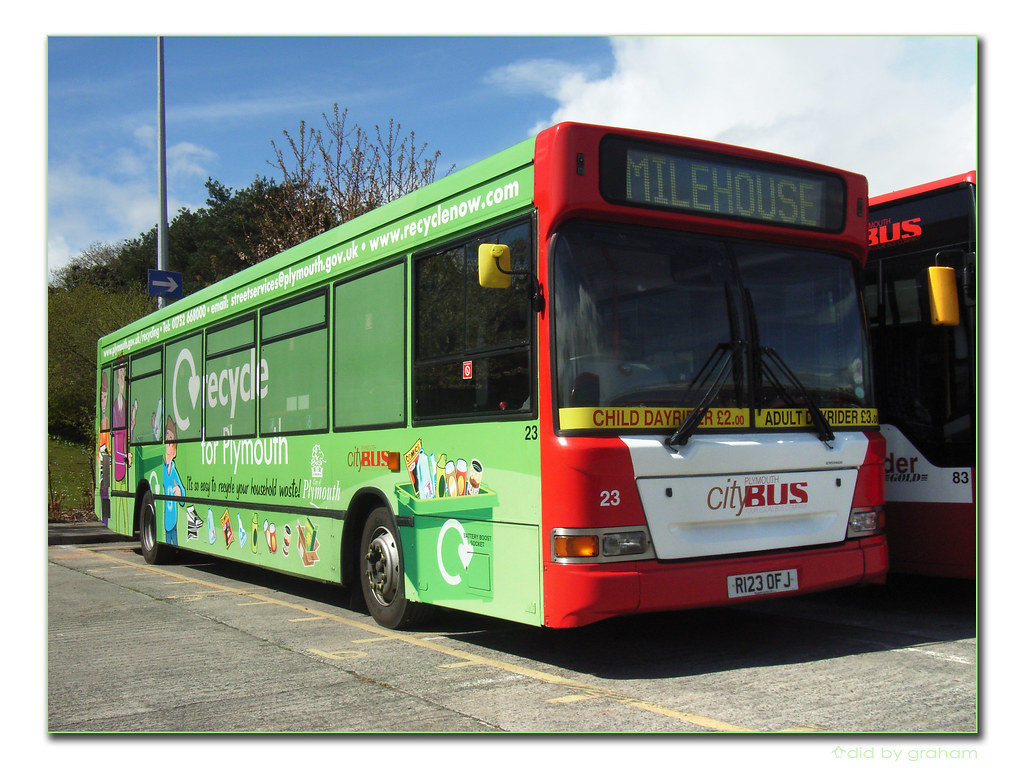 Plymouth Citybus 023 R123OFJ