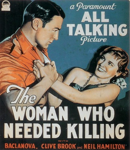 The Woman Who Needed Killing 1929 (by senses working overtime)