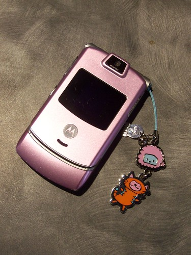 cell phone charm
