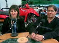 Sonia Ferrero y Agustín Palacios