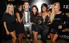 danity kane chilling with some white dude