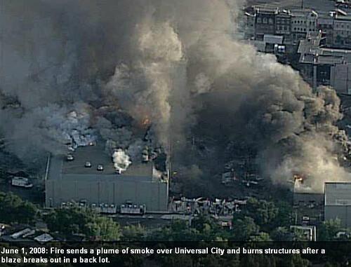 Universal Studios gran incendio