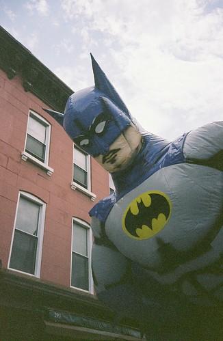 batman spotted in carroll gardens