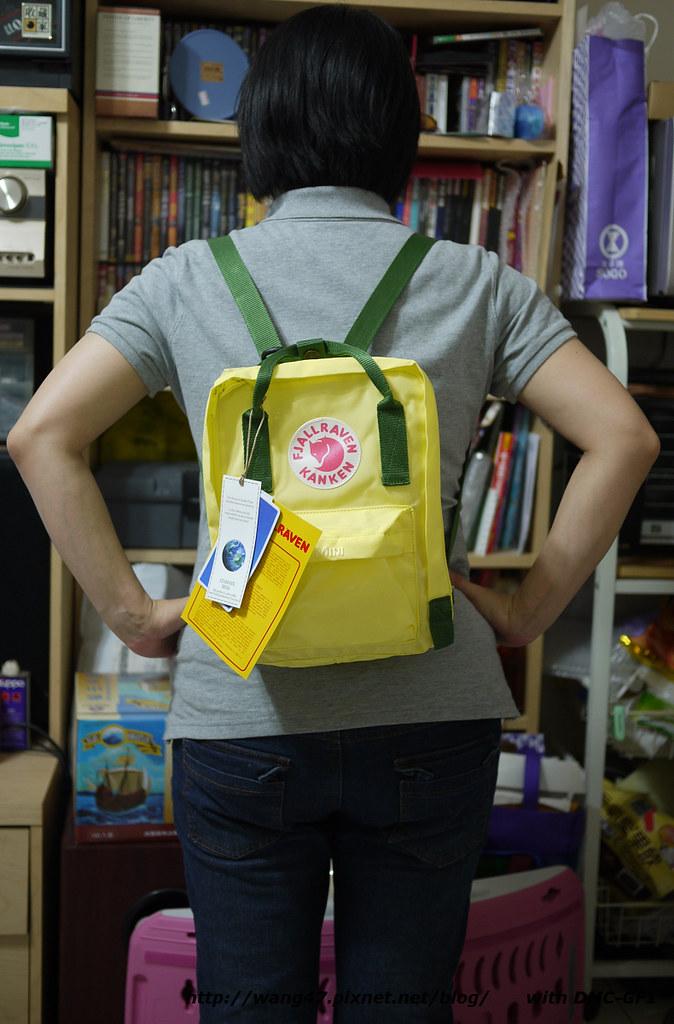 20110514-03Kånken mini亮檸黃-雲杉綠