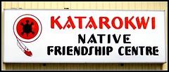 Katarokwi Native Friendship Centre (Will S.) Tags: signs ontario canada sign turtle feather kingston mypics cataraqui katarokwinativefriendshipcentre katarokwi