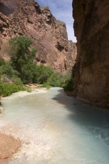 Looking down Havasu Creek