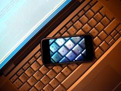 iPhone transparent screen