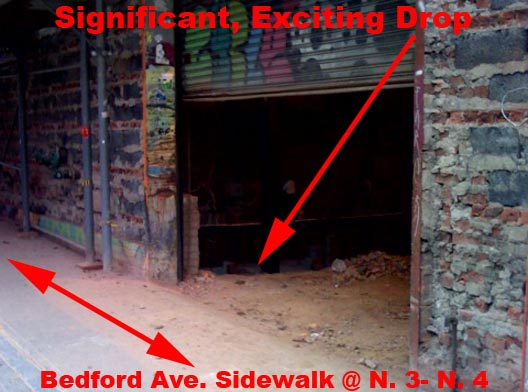 Bedford Avenue Door of Death