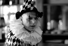 Aggro Clown (luns_spluctrum) Tags: people interestingness interesting clown human 85mmf18d d80