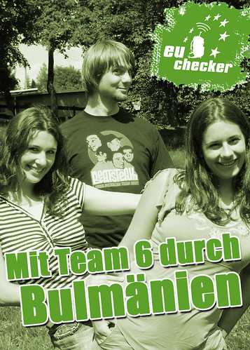 "DVD Cover - ""eu_checker - Mit Team 6 durch Bulmänien"""
