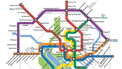 Outer Purple Line conceptual map