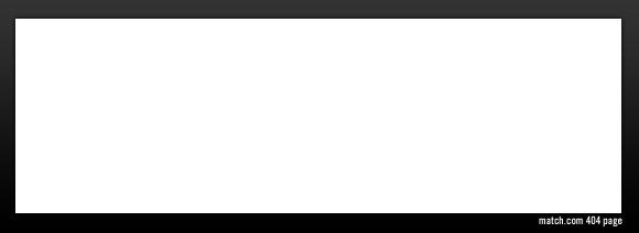 Match.com 404 error page