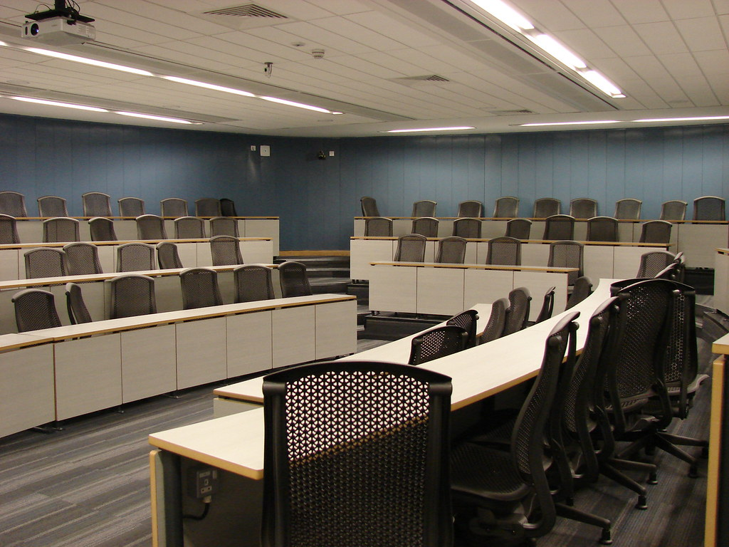 Harvard Lecture Room City Campus East Northumbria University