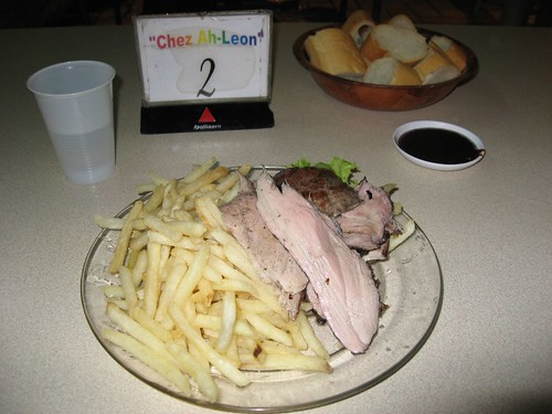 Veal and french fries