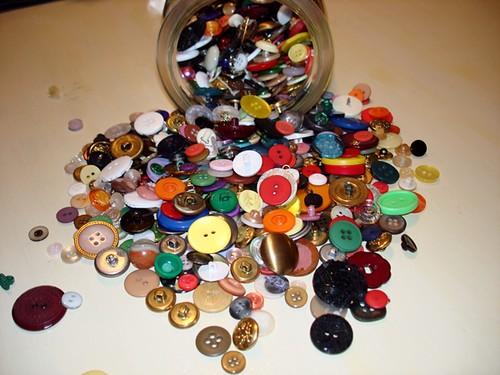 buttons close up