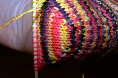 Turning the heel makes me feel smart.