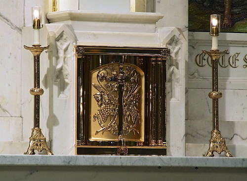 Saint Elizabeth, Mother of John the Baptist Roman Catholic Church in Saint Louis, Missouri, USA - tabernacle