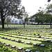 Kanchanaburi war cemetery in western Thailand