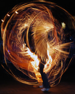 New Year's Eve Fire Poi