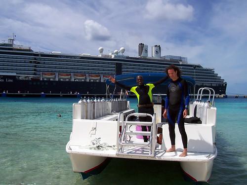 The Dive Boat & Zuiderdam